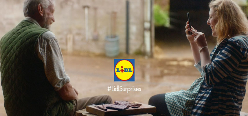 Creative marketing: LIDL Surprise, TV ADS