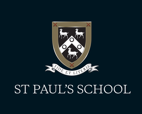 St Paul's School & Colet Court branding