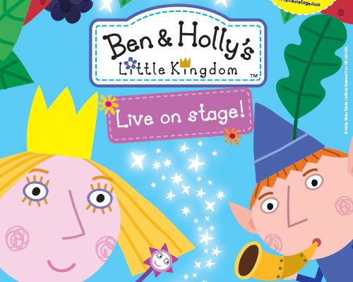 Commercial Print | Ben & Holly's Little Kingdom – UK Tour