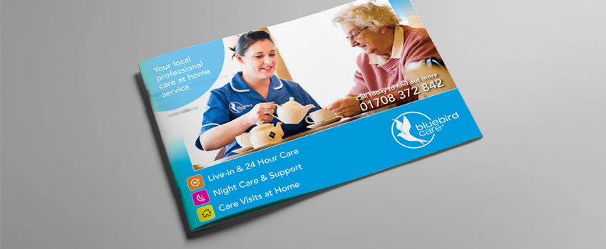 Bluebird Care Marketing Collateral