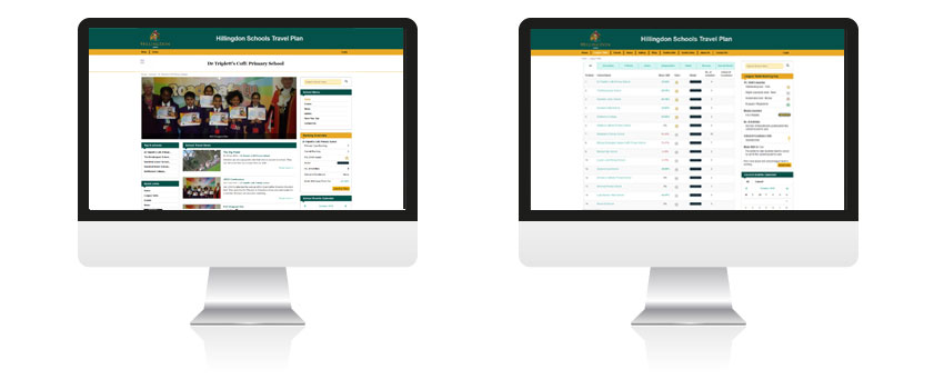 Hillingdon Borough Council website development
