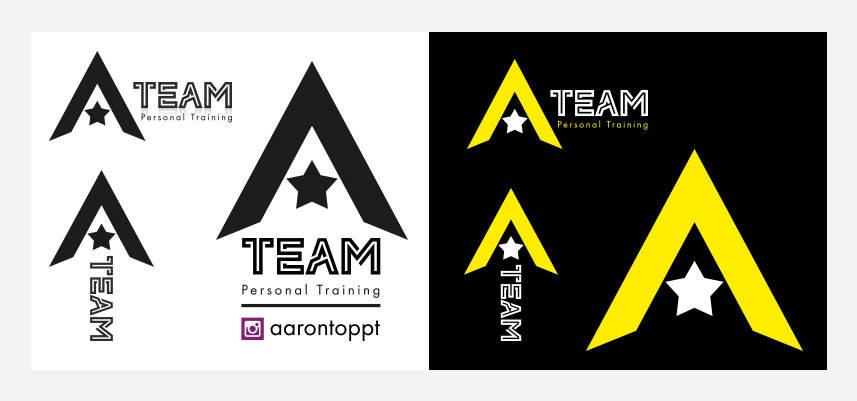 a team personal training logos