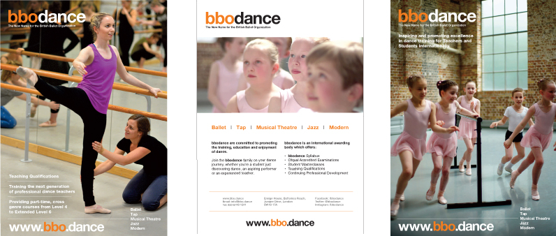 bbodance banners and printwork