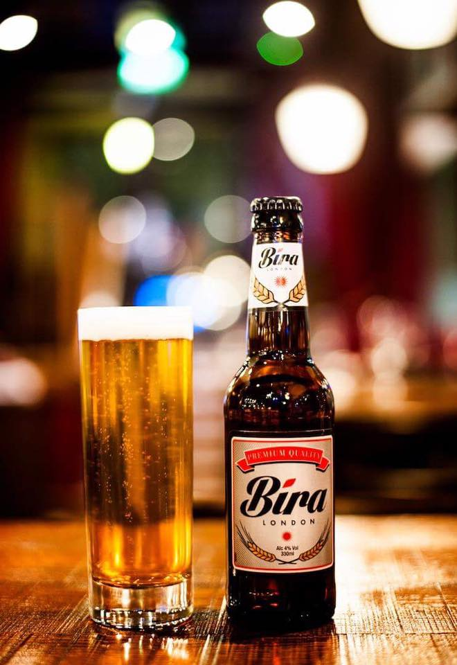 Bira London Beer bottle: Branding & Design Services.