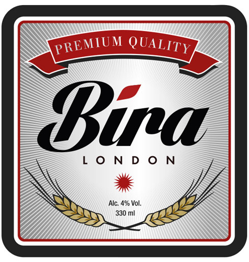 Bira London logo: Branding & Design Services.